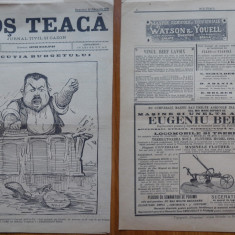 Ziarul Mos Teaca , jurnal tivil si cazon , nr. 206 , an 5 , 1899 , Bacalbasa