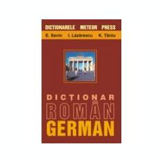 E. Savin, I. Lazarescu - Dicţionar român - german