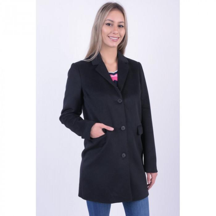 Palton Lana Office Vero Moda Lien Rich 3/4 Negru