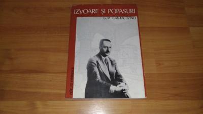 IZVOARE SI POPASURI-G. M. CANTACUZINO foto