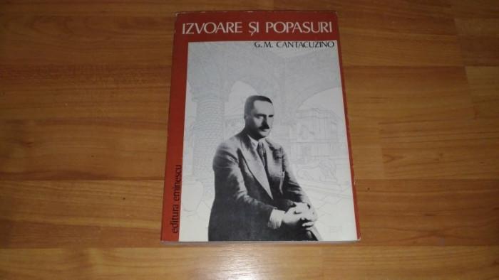 IZVOARE SI POPASURI-G. M. CANTACUZINO