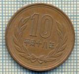 11991  MONEDA - JAPONIA - 10 YEN  - ANUL ?  -STAREA CARE SE VEDE