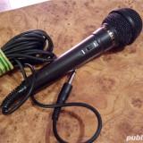 Microfon Akai ADM-88. Impedanta 600 Ohm. Cu fir 5m