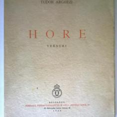 Tudor Arghezi - Hore Versuri (1939)