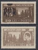 MIHAI VEDERI SUPRATIPAR RPR 1948 - 20 LEI CU EROARE ABKLATSCH - MNH, Nestampilat