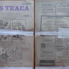 Ziarul Mos Teaca , jurnal tivil si cazon , nr. 41 , an 1 , 1895 , Bacalbasa