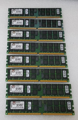 Memorie Kingston 2GB ECC PC2-5300 DDR2 667MHz DIMM Registered - poze reale foto