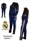 TRENINGURI BARBATI, REAL MADRID, PANTALONI CONICI,LIVRARE GRATUITA, L, M, S, Din imagine