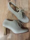 LICHIDARE STOC! Botine TIMBERLAND Boot Company handmade originale piele 40, Gri, Piele naturala