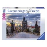 Puzzle-Praga(1000 piese), 2D (plan), Ravensburger