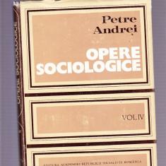 PETRE ANDREI -OPERE SOCIOLOGICE