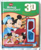"""Mickey's Christmas Carol. 3D Storybook"". Carte in limba engleza + ochelari 3D, Alta editura, 2012"