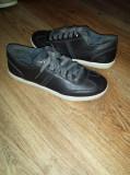 Pantofi dama TIMBERLAND originali noi piele +tweed gri sau maro 37 si 38, 37.5, Cu talpa joasa