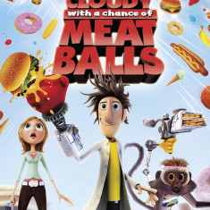 Cloudy with a chance of Meatballs - Nintendo Wii  [Second hand], Actiune, 3+, Multiplayer