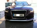 Prelungire buza lip tuning sport bara fata Audi A4 B8 8K S line RS4 S4 v1