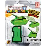 Vehicul transformabil Cifra 1 Tanc Pocket Morphers