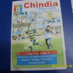 program          Chindia  targoviste   -  CS  Mioveni