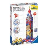 Puzzle 3D-Big Ben(varianta Minions-216 piese), Ravensburger