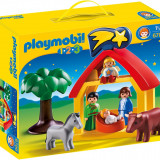 Lego Playmobil-Scena de Craciun
