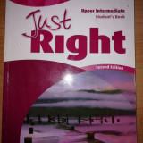Just right upper intermediate