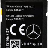 Card SD navigatie MERCEDES Garmin Map Pilot A C CLA CLS E GL GLA GLE GLS 2019