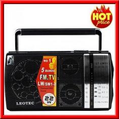 Radio MP3 Portabil Boxa USB Card SD Leotec LT LW 11