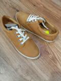 Pantofi/tenisi dama TIMBERLAND Sommets originali noi piele nubuck camel 40 si 41, Cu talpa joasa