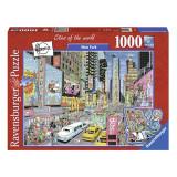 Puzzle-New York(1000 piese), 2D (plan), Ravensburger