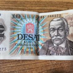 Banknota Desat Korun 1986 (56690)