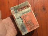 Cutie Micalux argintie / praf de matase pentru zugraveli perioada comunista 1982