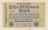GERMANIA 10.000.000 marci 1923 VF+++!!!
