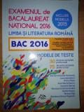 Examenul de bacalaureat national 2016 editura Delfin