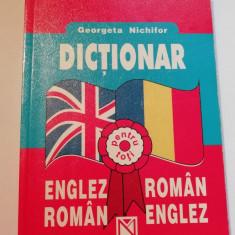 Dicționar român-englez editura Niculescu
