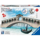 Puzzle 3D-Podul Rialto(216 piese), Ravensburger