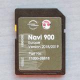 Card SD Original navigatie Opel Navi600 Navi900 harta Europa + ROMANIA 2019, Tomtom
