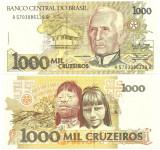 Brazilia 1990 - 1000 cruzeiros UNC