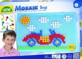 Set Creatie Si Constructie Mozaic Lena Baieti 200 Piese