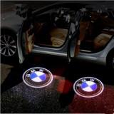 Set proiectoare portiere LED logo BMW dedicate noi