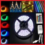 Banda 300 LED-uri 5050 RGB 5 metri, Universal