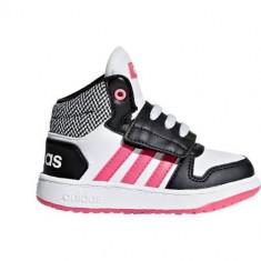 Ghete Copii Adidas VS Hoops Mid 20 DB1943, 25.5, Alb