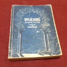 101 DE NOPTI - BASME ARABE POVESTITE DE EUSEBIU CAMILAR 1956