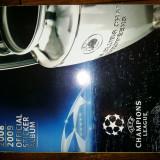 ALBUM PANINI UEFA CHAMPIONS LEAGUE 2008-'09 COMPLET