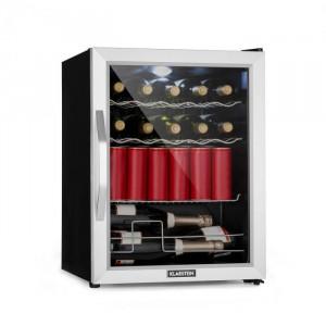 Klarstein Beersafe XL Mix It Edition, frigider, A++, LED, 4 grile metalice, uși din sticlă