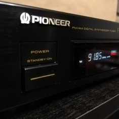 Tuner Pioneer model F229 - Digial Synthesizer FM Stereo/AM - Impecabil/Japan, Digital