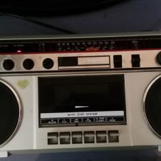 RADIO CASETOFON CROWN CSC-40L, 0-40 W
