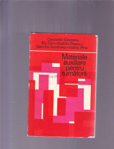 MATERIALE AUXILIARE PENTRU TURNATORII