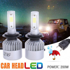 Becuri led auto H7,H1,H4, Universal