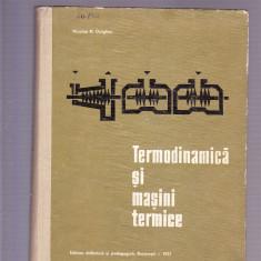 TERMODINAMICA SI MASINI TERMICE