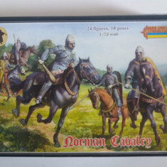 Set 24 soldati -  Norman Cavalry scara 1:72