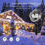 Proiector laser pentru Craciun  Snowfall